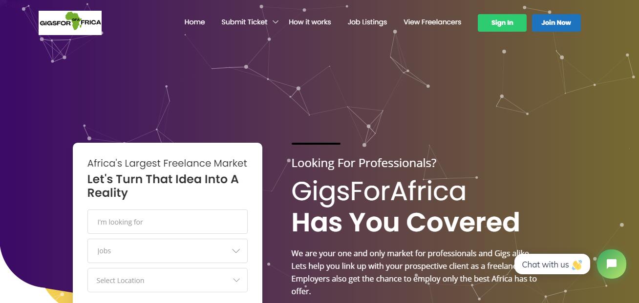 GigsforAfrica